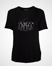 Soft Rebels Wow T-Shirt T-shirts & Tops Short-sleeved Svart SOFT REBELS