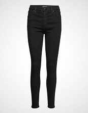 Abercrombie & Fitch High Rise Super Skinny Jeans Skinny Jeans Svart ABERCROMBIE & FITCH