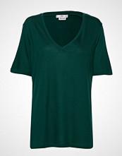 Mango Basic T-Shirt T-shirts & Tops Short-sleeved Grønn MANGO