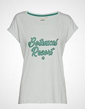 Cream Debbie Tshirt T-shirts & Tops Short-sleeved Hvit CREAM