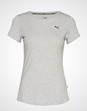 Puma Ess Tee T-shirts & Tops Short-sleeved Grå PUMA