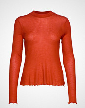 Vila Visusyl L/S Turtleneck /Su T-shirts & Tops Long-sleeved Oransje VILA