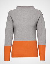 Brandtex Pullover-Knit Heavy Strikket Genser Grå BRANDTEX