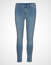 GAP Sh Fav Jegging Ankle Knit Med Blue Captain Skinny Jeans Blå GAP