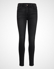 Hollister High Rise Super Skinny Skinny Jeans Svart HOLLISTER