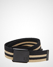 Fred Perry Webbing Belt Belte Svart FRED PERRY