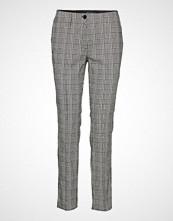 Betty Barclay Pants Classic 1/1 Length Bukser Med Rette Ben Grå BETTY BARCLAY