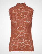 Rosemunde Top T-shirts & Tops Sleeveless Brun ROSEMUNDE