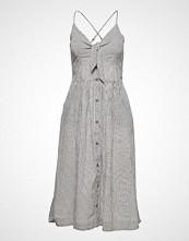 Superdry Jayde Tie Front Midi Dress Knelang Kjole Multi/mønstret SUPERDRY