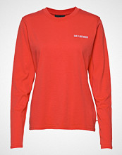 HAN Kjøbenhavn Casual Tee Long Sleeve T-shirts & Tops Long-sleeved Rød HAN KJØBENHAVN