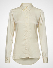 Soaked in Luxury Sl Jeanette Shirt Ls Langermet Skjorte Creme SOAKED IN LUXURY