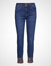 Desigual Denim Miami Skinny Jeans Blå DESIGUAL