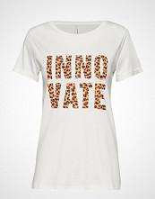 Soyaconcept Sc-Ingun T-shirts & Tops Short-sleeved Hvit SOYACONCEPT