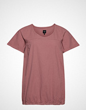 Zizzi Mmarrakesh, Ss, Blouse T-shirts & Tops Short-sleeved Rosa ZIZZI