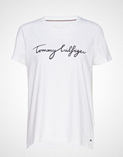 Tommy Hilfiger Heritage Crew Neck G T-shirts & Tops Short-sleeved Hvit Tommy Hilfiger