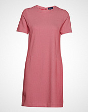 Gant O1. Jersey Pique Dress Kort Kjole Rosa GANT