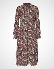 Kaffe Kaselly Midi Dress Knelang Kjole Multi/mønstret KAFFE