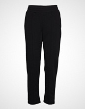 Gina Tricot Vicky Trousers Bukser Med Rette Ben Svart GINA TRICOT