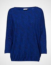 Masai Delfina Top T-shirts & Tops Long-sleeved Blå MASAI