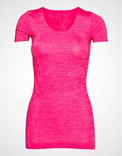 Schiesser Shirt 1/2 T-shirts & Tops Short-sleeved Rosa SCHIESSER