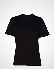 FILA Women Nova Cropped Tee Ss T-shirts & Tops Short-sleeved Svart FILA