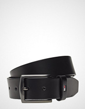 Tommy Hilfiger Denton Leather 3.5 Belte Svart TOMMY HILFIGER