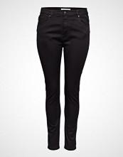 Only Carmakoma Caraugusta Hw Skinny Jeans Black Noos Slim Jeans Svart ONLY CARMAKOMA