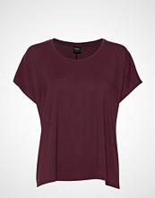 Nanso Ladies Shirt, Hento T-shirts & Tops Short-sleeved Rød NANSO