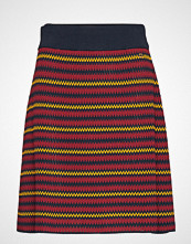 Morris Lady Colette Knit Skirt Knelangt Skjørt Multi/mønstret MORRIS LADY