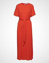 Cathrine Hammel Long Miami W/Short Sleeves Maxikjole Festkjole Oransje CATHRINE HAMMEL