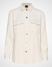 Gina Tricot Cory Corduroy Shirt Langermet Skjorte Creme GINA TRICOT