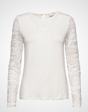 Cream Kanecr Long Sleeve T-Shirt T-shirts & Tops Long-sleeved Hvit CREAM
