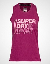Superdry Core Sport Graphic Vest T-shirts & Tops Sleeveless Rosa SUPERDRY