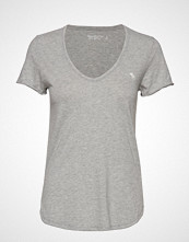 Abercrombie & Fitch Icon Tee T-shirts & Tops Short-sleeved Grå ABERCROMBIE & FITCH
