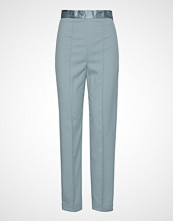 Soaked in Luxury Sl Beatrix Pants Bukser Med Rette Ben Blå SOAKED IN LUXURY