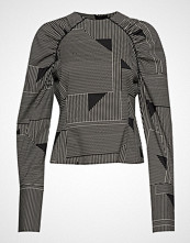 Selected Femme Slfmarlene Ls Top B T-shirts & Tops Long-sleeved Multi/mønstret SELECTED FEMME