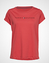 Tommy Hilfiger Rn Tee Ss Logo T-shirts & Tops Short-sleeved Rød TOMMY HILFIGER