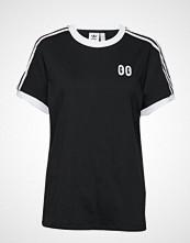 Adidas Originals 3 Stripes Tee T-shirts & Tops Short-sleeved Svart ADIDAS ORIGINALS