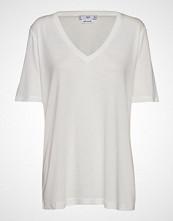 Mango Basic T-Shirt T-shirts & Tops Short-sleeved Hvit MANGO