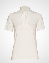 Vila Visuri S/S T-Shirt/Ki T-shirts & Tops Short-sleeved Creme VILA