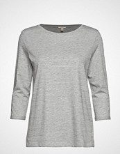 Esprit Casual T-Shirts T-shirts & Tops Long-sleeved Grå ESPRIT CASUAL