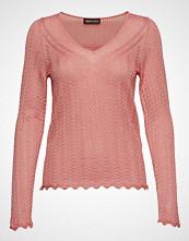 Stine Goya Fran, 659 Sparkle Knitwear Strikket Genser Rosa STINE GOYA