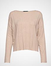 Mango Ribbed Knit Sweater Strikket Genser Rosa MANGO