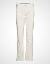 Envii Enabisko Pants 6641 Bukser Med Rette Ben Creme ENVII