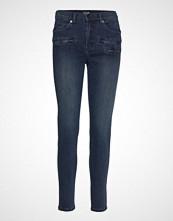 Sand Blue Black - Brandi High Skinny Jeans Blå SAND