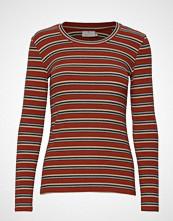 Kaffe Kaulli T-Shirt T-shirts & Tops Long-sleeved Rød KAFFE