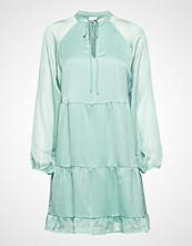 Vila Vipallea L/S Dress Kort Kjole Blå VILA