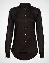 Soaked in Luxury Sl Jeanette Shirt Ls Langermet Skjorte Svart SOAKED IN LUXURY