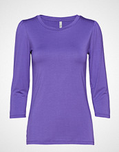 Soyaconcept Sc-Marica T-shirts & Tops Long-sleeved Lilla SOYACONCEPT
