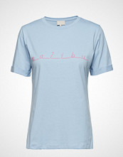 Minus Malibu Tee T-shirts & Tops Short-sleeved Blå MINUS